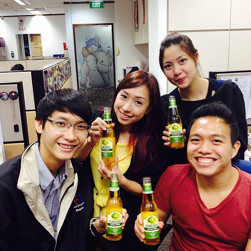 Singapore Lifestyle Blog, nadnut,  Somersby, Apple Cider, nadnut Somersby