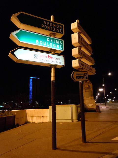 (Signalisation) Refonte du jalonnement urbain sur Rouen et son agglo 11274511094_903e28b9a0_z