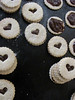 Linzer Cookies with Chocolate Buttermilk Ganache by omelettablog