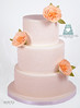 W9170-peach-lace-wedding-cake-toronto