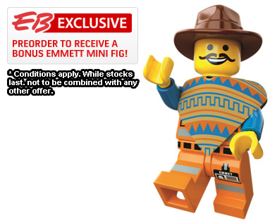 The LEGO Video Game Preorder
