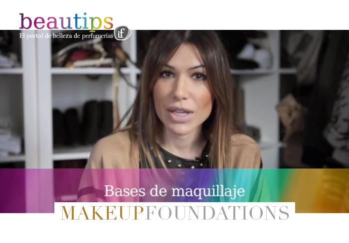 beautips barbara crespo make-up foundations maquillaje beauty video report beautips.com