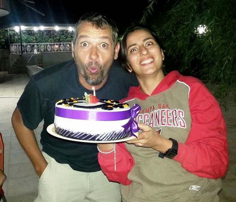 05 Celebracion de mi cumpleaños con la familia de Parisa