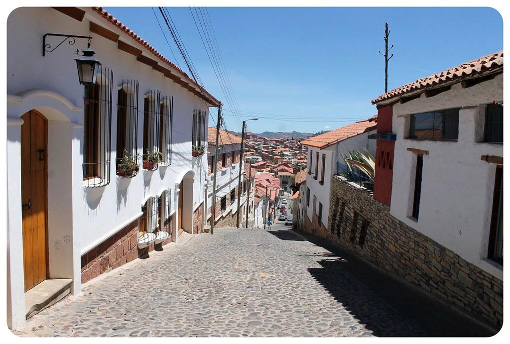 12 sucre street bolivia