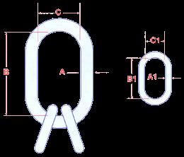 Quad Links - Grade 80 Image