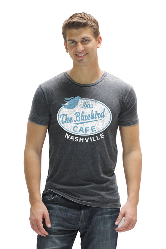 Bluebird Cafe Black Neo T-Shirt