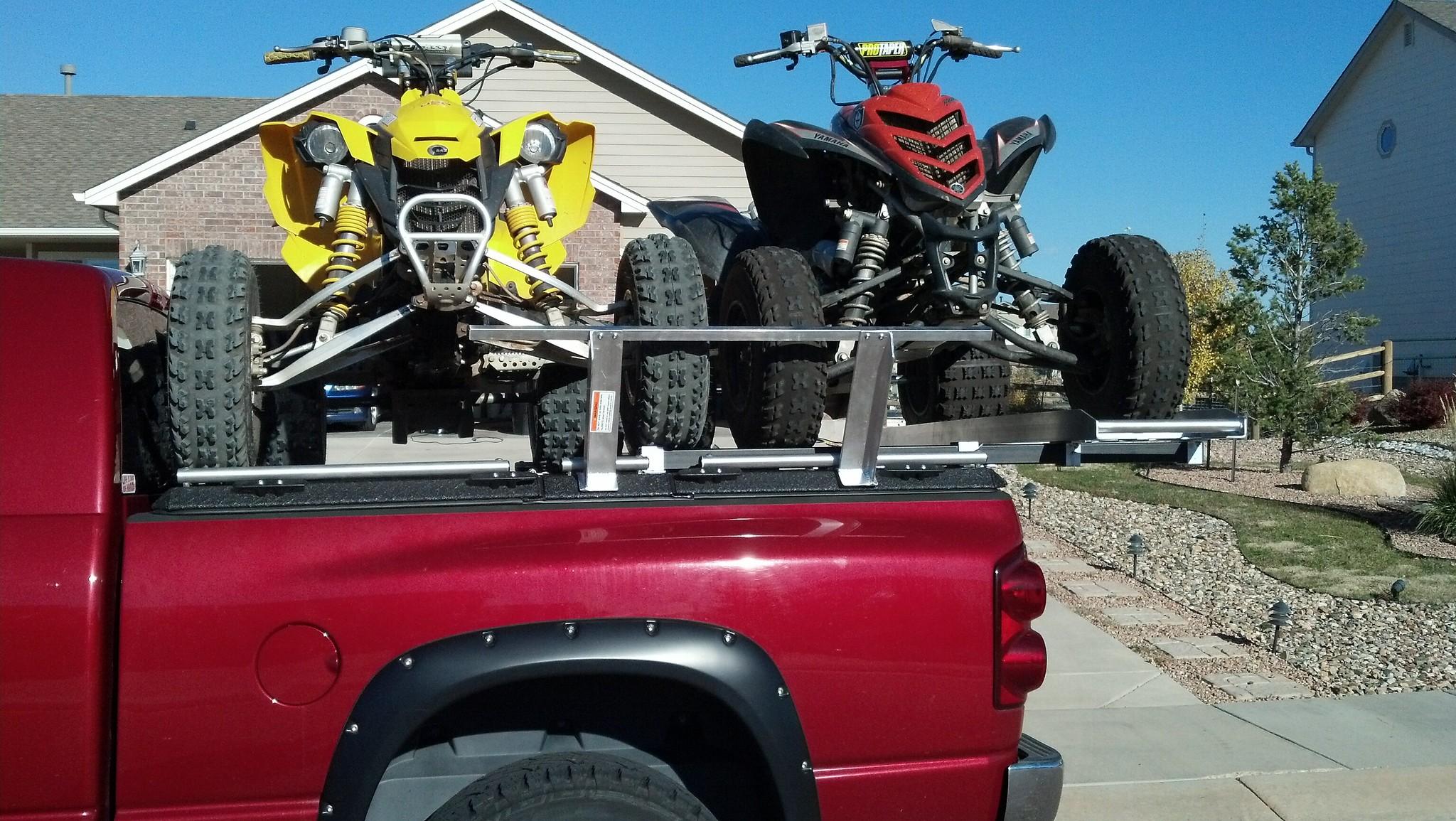 Truck Fender Flares >> ATV Truck Rack on Dodge Ram Pickup   Flickr - Photo Sharing!