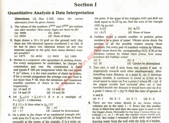 cat exam model question paper Unlimited practice for cat 2018 on an intelligent platform with adaptive tests, mock tests & videos created by exam toppers along with help on weak areas.