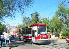 Moscow tram LT-5 1001_20030515_1_ShiftN