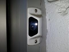 Door camera at Walmart in Laurel, Maryland