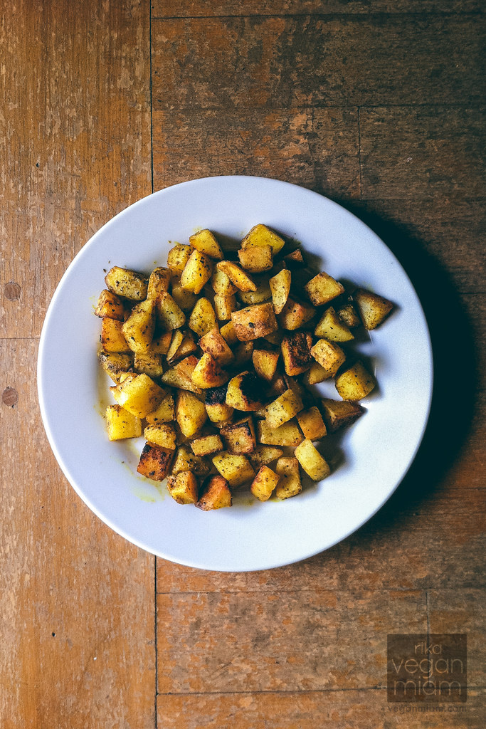 Curried Pan-Crisped Potatoes