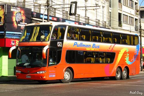 Pullman Bus en Valparaíso | Marcopolo Paradiso 1800 DD / YG1534
