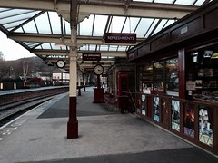 Kiosk on Keighley station