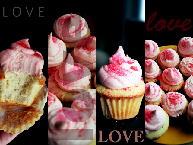 Jolly Rancher Cupcakes Love Collage