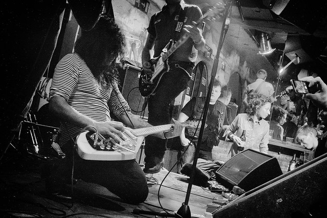 Support bands at Shacklewell Arms