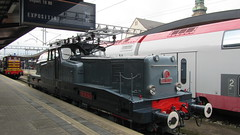CFL BB-3608 electric locomotive at Luxembourg Railway Station