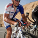 Robert Förster climbing in the heat of Stage 5 - Tour of Oman