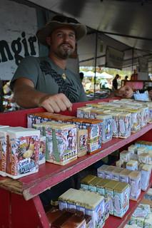 Filthy Farmgirl handmade, organic soaps from Kalapana