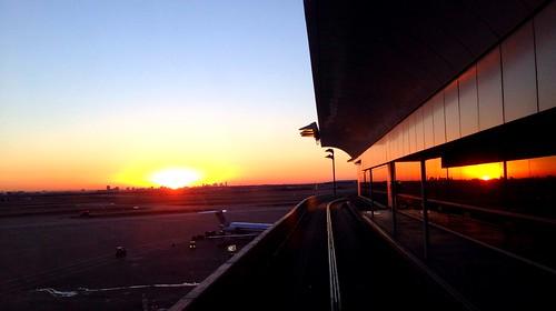 sunset sunrise almosthome dallasfortworthinternationalairportdfw colorvibefilter