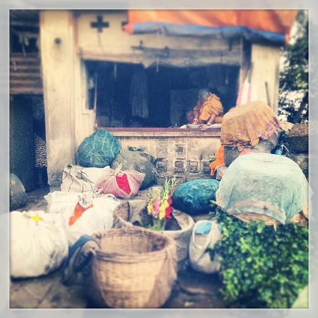 Flower shop in #Kolkata