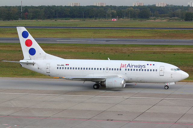 Jat Airways - B733 - YI-ANL (2)