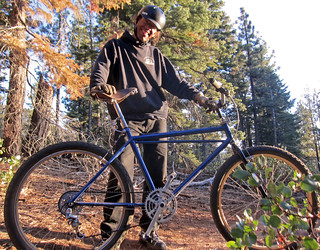 Gary Bell and his 1979 Lawwill Mtn Bike