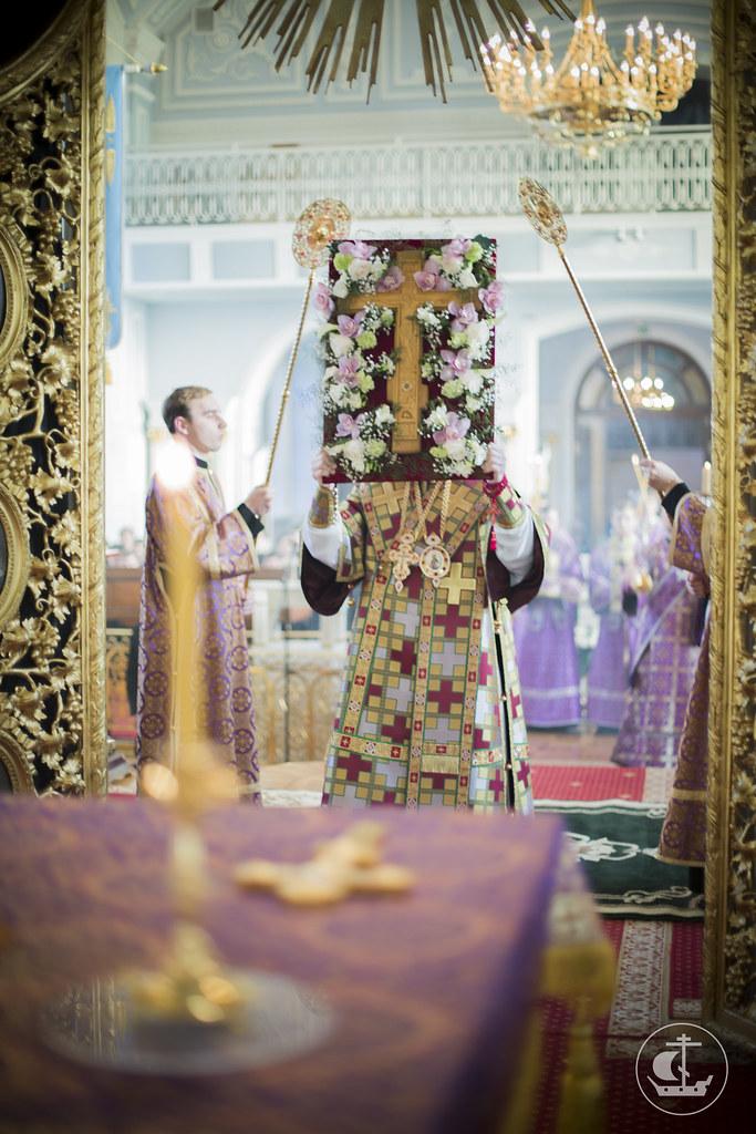22 марта 2014, Всенощное бдение накануне Недели Крестопоклонной / 22 March 2014, Vigil on the eve of the Week of the Veneration of the Holy Cross