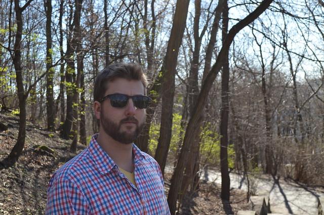 Volkspark Friedrichshain Berlin_Russ in sunglasses
