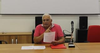 L'ex sindaco prof. Gianni Colagrande polignano