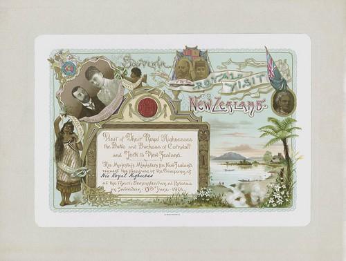 Card mounted invitation.
