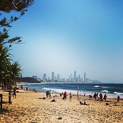 Looking like a nice Good Friday beach day #beachlife #goldcoast #niceday