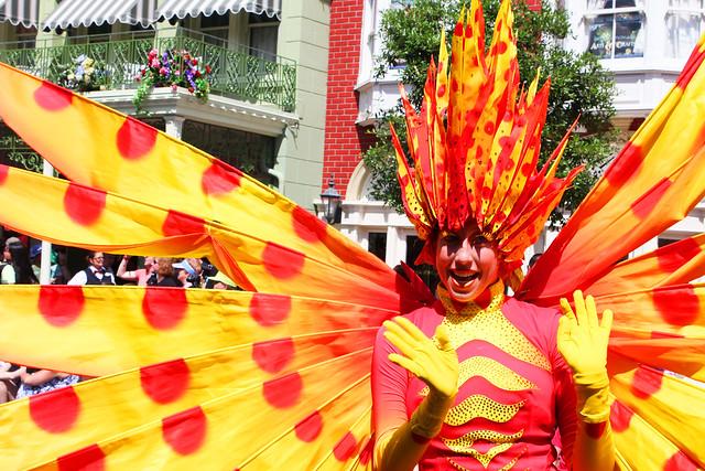 Disney World's Festival of Fantasy Parade