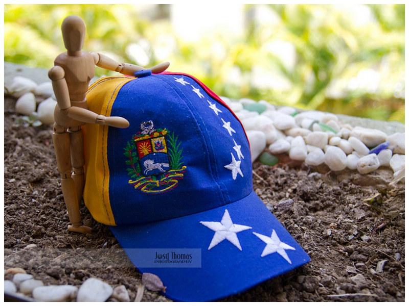 Pixel con gorra tricolor