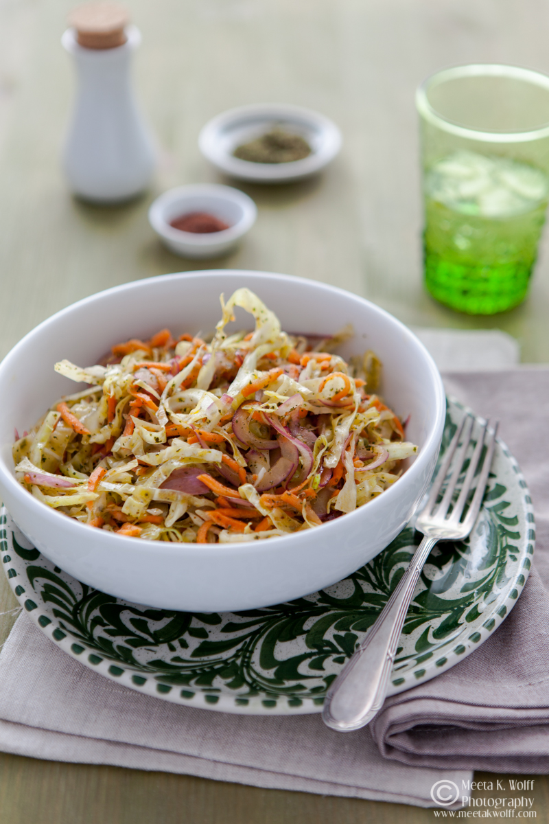 Lebanese Cabbage Salad (106)