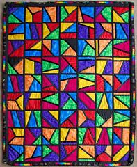 Multi coloured Quilt