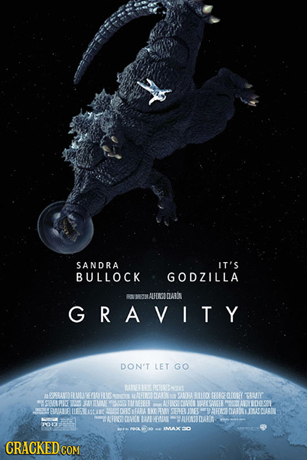 Godzilla em Gravidade