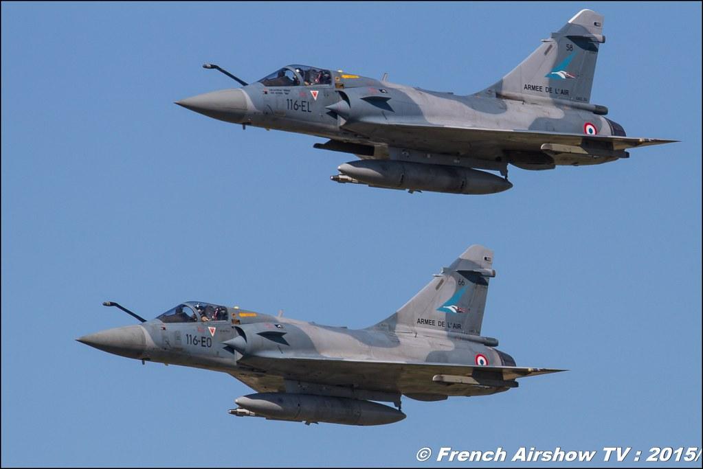 Mirage 2000-5, 1/2 Cigognes, Mirage 2000 display ,police du ciel, TB-30 Epsilon, Dassault Mirage 2000-5, BA-116 Luxeuil St Sauveur LFSX, Meeting Aerien 2015