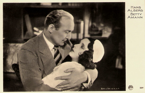 Hans Albers and Betty Amann in Hans in allen Gassen (1930)