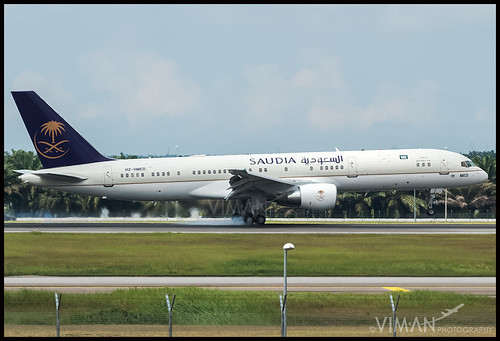 Saudi Arabian Royal Flight Boeing 757-200