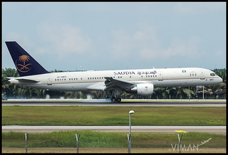 Saudi Arabian Royal Flight Boeing 757-200 | by Viman Photography