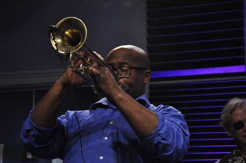 Antonio Gambrell performs with Walter