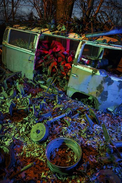 Volkswagen Van Parts RGB Redux