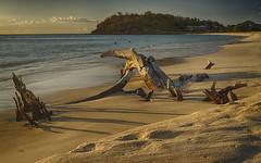 Ffreyes Beach at Sunset
