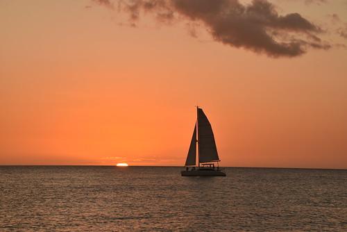 marcoisland sailing sunset florida