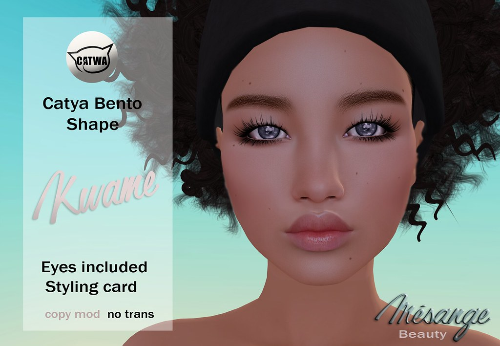 MESANGE - Kwame Shape for SKIN FAIR 2017 - SecondLifeHub.com