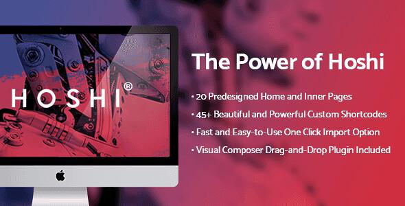 Hoshi WordPress Theme free download