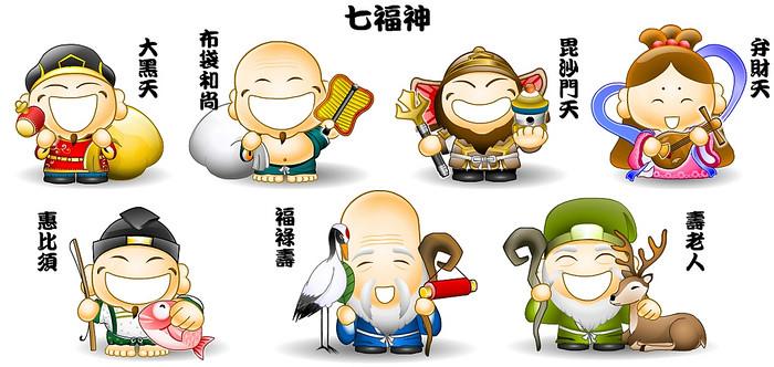 Vamos conhecer mais sobre os sete deuses da sorte