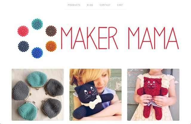 Screenshot | Maker Mama Shop