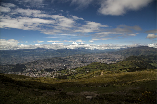 High Above Quito