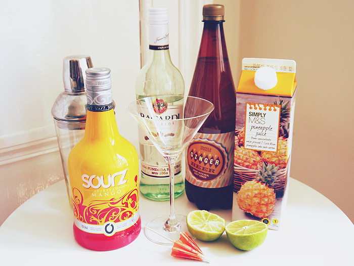 cocktail hour sourz mango mangotini recipe 2